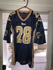 Nike Marshall Faulk Rams Pro Team Edition Jersey Men's Large Vintage