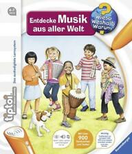 Tiptoi® Entdecke Musik aus aller Welt von Inka Friese (2015, Ringbuch)