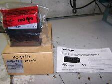 NEW RED LION 115/230 VAC PAX LITE DC VOLTMETER PAXLVD00