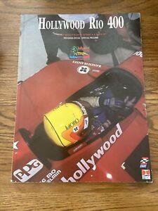 1997 Hollywood Rio 400 In Brazil Cart/Indycar Racing Program