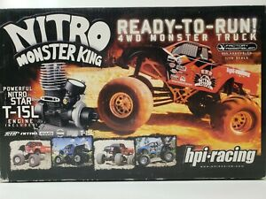 HPI NITRO MONSTER KING RTR MONSTER TRUCK FACTORY ASSEMBLED AND SEALED 1/10 4WD