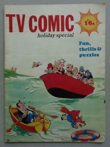 TV Comic Holiday Special 1969 Doctor Who VG (phil-comics)