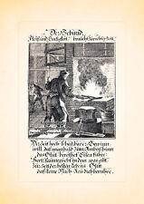 Der Schmid Schmied Hufschmied Amboss Kupferstich Christoph Weigel Berufe 152