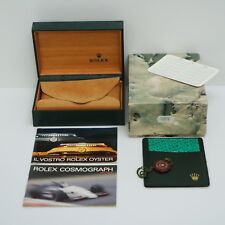 ROLEX DAYTONA R PORCELLANA 16520 SCATOLA KIT BOX REF 68.00.55 VINTAGE 1988