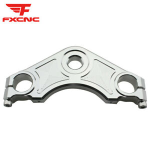 For CBF150 CNC Motorcycle Upper Triple Clamp Tree Mount Bracket CNC Aluminum