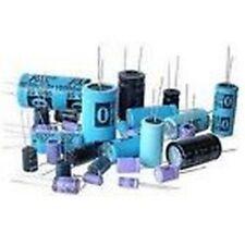 10pz condensatori elettrolitici in alluminio 33uF 400V nero P2J1