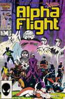 Alpha Flight #33 #34 (1986) Marvel Comics X-Men Wolverine 1st Lady Deathstrike