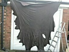 FULL  LEATHER ITALIAN HIDE BROWN olive