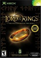 Lord Of The Rings The Fellowship Of The Ring XBOX Game Used Complete