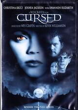 Cursed (DVD, 2005,Widescreen) Wes Craven, Christina Ricci, Michael Rosenbaum NEW