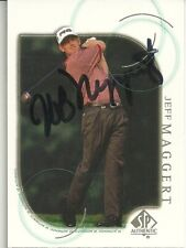 Jeff Maggert   PGA Golfer Personally Autographed Card