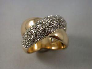 sehr edler Christ - Brillantring Gold 585 1,50 Carat