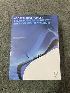 Adobe Photoshop CS3 Windows PC Graphics Editor SEALED