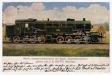 MAFFEI était Mallet Locomotive Bayer chemins de fer Engine Locomotive * AK U 1920 Original