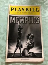 Memphis January 2011 Broadway Playbill