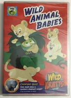 Wild Kratts: Wild Animal Babies -DVD Martin Kratt,Chris Kratt New Seal See Picts