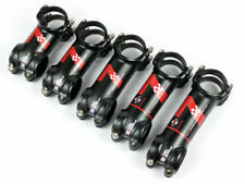 Adjustable Quill Stem 100mm 0º//60° Black 22.2 Steer 25.4mm H-bar Bike Kalloy Uno