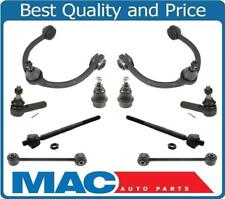 05-10 Jeep Grand Cherokee Upp Control Arms Tie Rods Sway Bar Ball Joints 10Pc