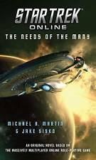Star Trek Online: The Needs of the Many by Michael A Martin (Paperback / softback, 2015)
