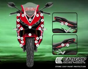 Motorcycle Stone Chip Protection PPF Honda CBR650R/F 2019+