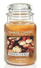 Yankee Candle 🍪 OATMEAL COOKIE 🍪 22 oz Large Jar 2013 RARE USA HTF RETIRED NEW