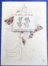 Mother's Day Card Handmade Blank Inside Constance Kay Stock by Carrie Sanders