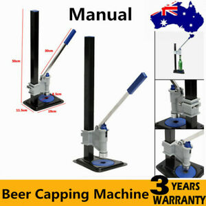 Beer Bottle Capper Super Auto Lever Bench Capper - Home Brew Fast AU Ship New