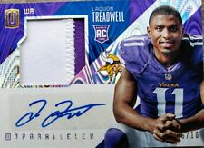 2016 Unparalleled Laquon Treadwell 2 Color Patch Auto Numbered 6 Of 10