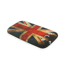 Softcase Schutzhülle Cover für Samsung Galaxy S3 Retro Union Jack Flag UK Flagge