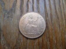QEII 1953 One Penny, UNC avec lustre, date Clé