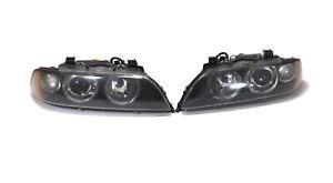 2001-2003 BMW E39 Xenon Headlight 2 pieces OEM Hella Amber Turn Signal fits M5