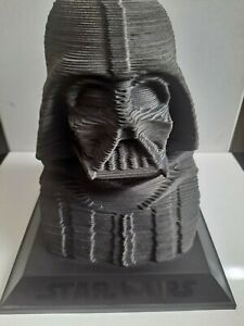 Star Wars Darth Vader Bust Sculpture 3D Puzzle on Stand
