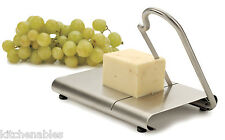 RSVP Endurance STAINLESS Steel Cheese Slicer Cutter & Serving Board