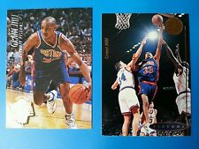 Grant Hill  239 RC Fleer Ultra  57 UD  Draft 1994 95 Pistons 2 card lot