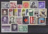 Österreich  Jahrgang 1965 postfrisch komplett