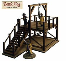 28mm Old West Cowboy Gallows Model Kit from Battle Flag