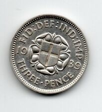 Great Britain - Engeland - 3 Pence 1939