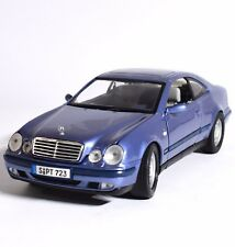 Anson MERCEDES BENZ CLK COMPRESSORE SPORT COUPE in blu metallizzato, 1:18, v007