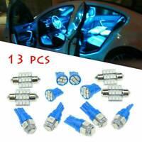 13x Auto Car Interior LED Lights Dome License Plate Lamp 12V Kit Accessories JK