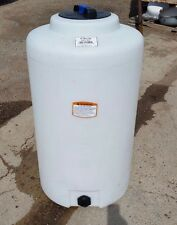 65 gallon vertical poly tank/container, indoor water or chemical storage
