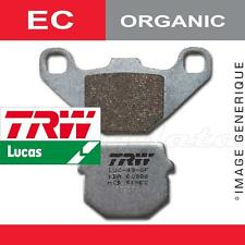 Plaquettes de frein Arrière TRW Lucas MCB 710 EC Aprilia 150 Scarabeo SD 99-03