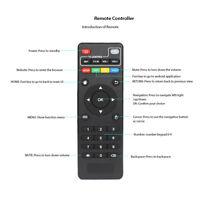 Remote Control For MXQ / MXQ Pro 4K X96 T95M T95N Android Smart TV Box Black