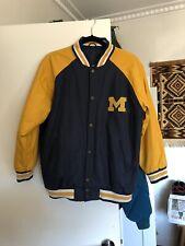Vintage University of Michigan Wool Varsity Jacket