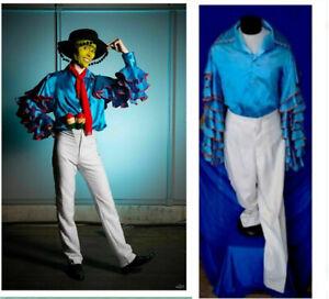 Cuba Pete shirt in movie cosplay costume
