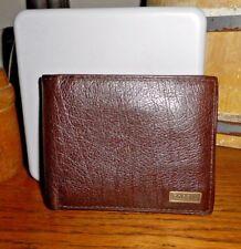 FOSSIL Omega Bifold ID wallet Dark brown leather ML3345201 MIB $45