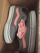 NEW Toddler Vans Ward V Skate Shoes Grey
