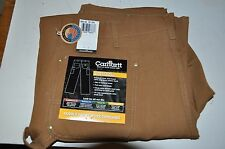 CARHARTT DOUBLE FRONT WORK PANTS JEANS DUNGAREE 38 X 32 B01 BRN NWT COTTON DCUK