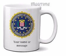 TAZZA Personalizzata Logo FBI-Federal Bureau of Investigation - 330ml 11oz