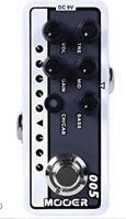 Mooer Brown Sound 3 Micro Preamp Pedal White