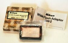 Nikon SW-2 Wide Flash Adapter (Diffuser) for Nikon SB Speedlight w/ box